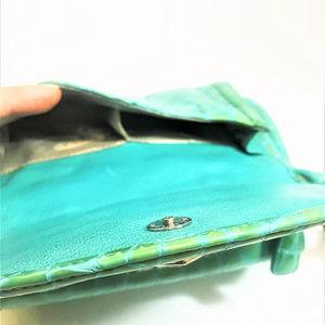 Brighton Bags - Brighton Croc Embossed Patent Leather CrossBody